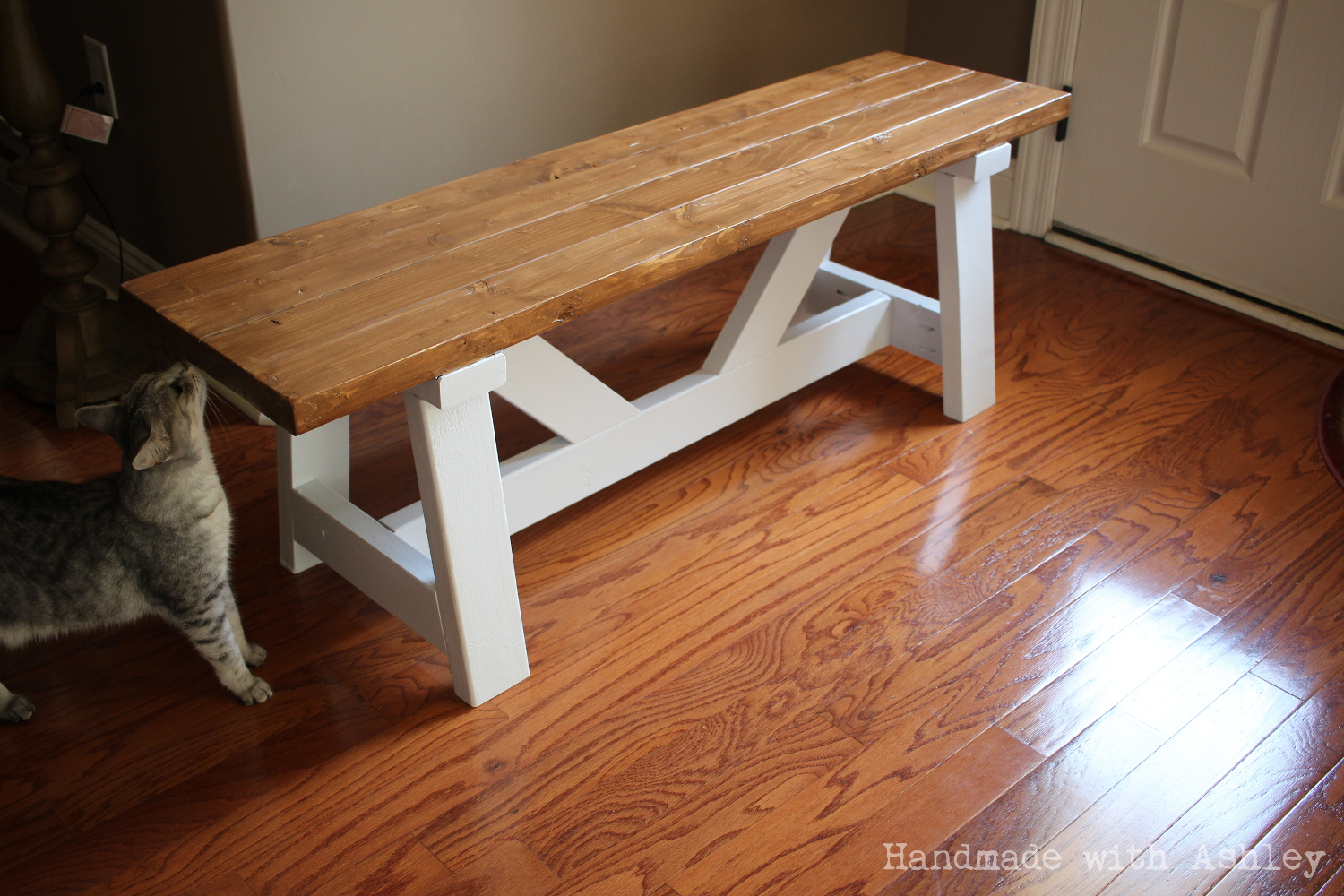 DIY Providence Bench (Plans By Ana White)